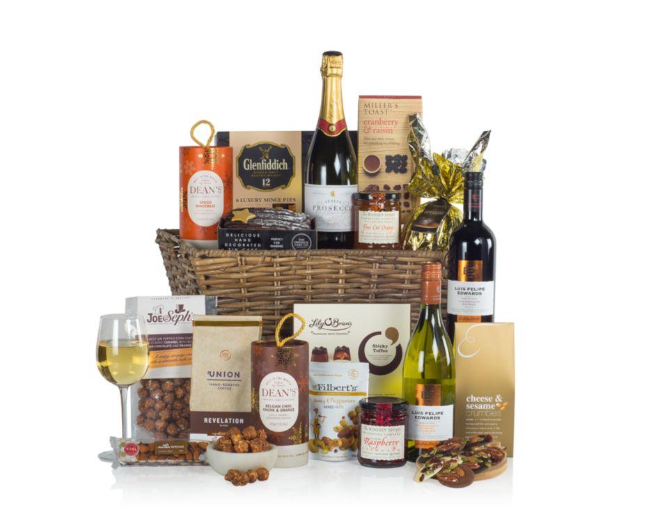 Indulgent Christmas Gift Basket