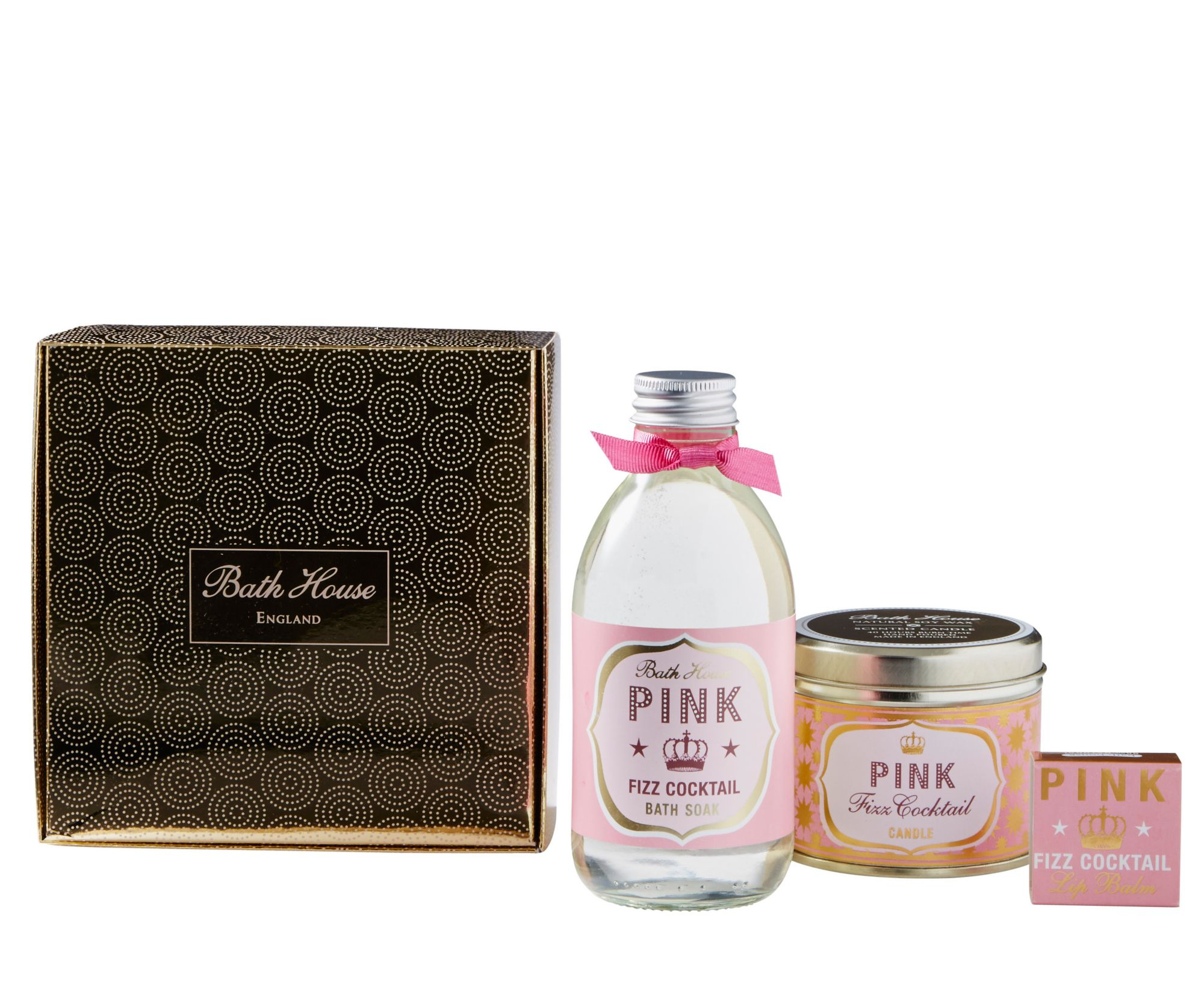 Image of Bath House Pink Fizz Cocktail Gift Box