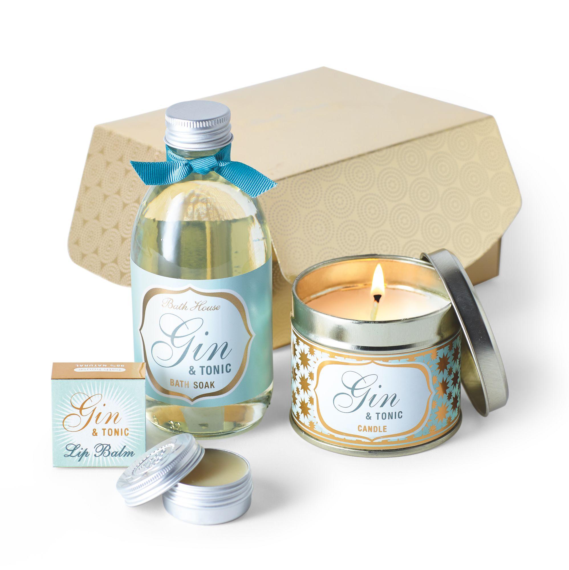 Image of Bath House Gin & Tonic Temptation Gift Box