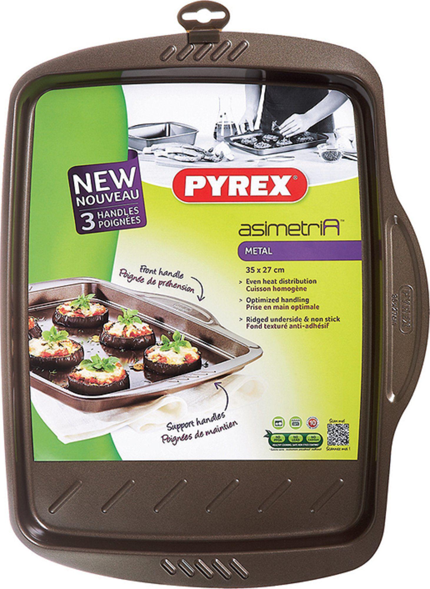 Non-stick metal: asimetriA range - Pyrex