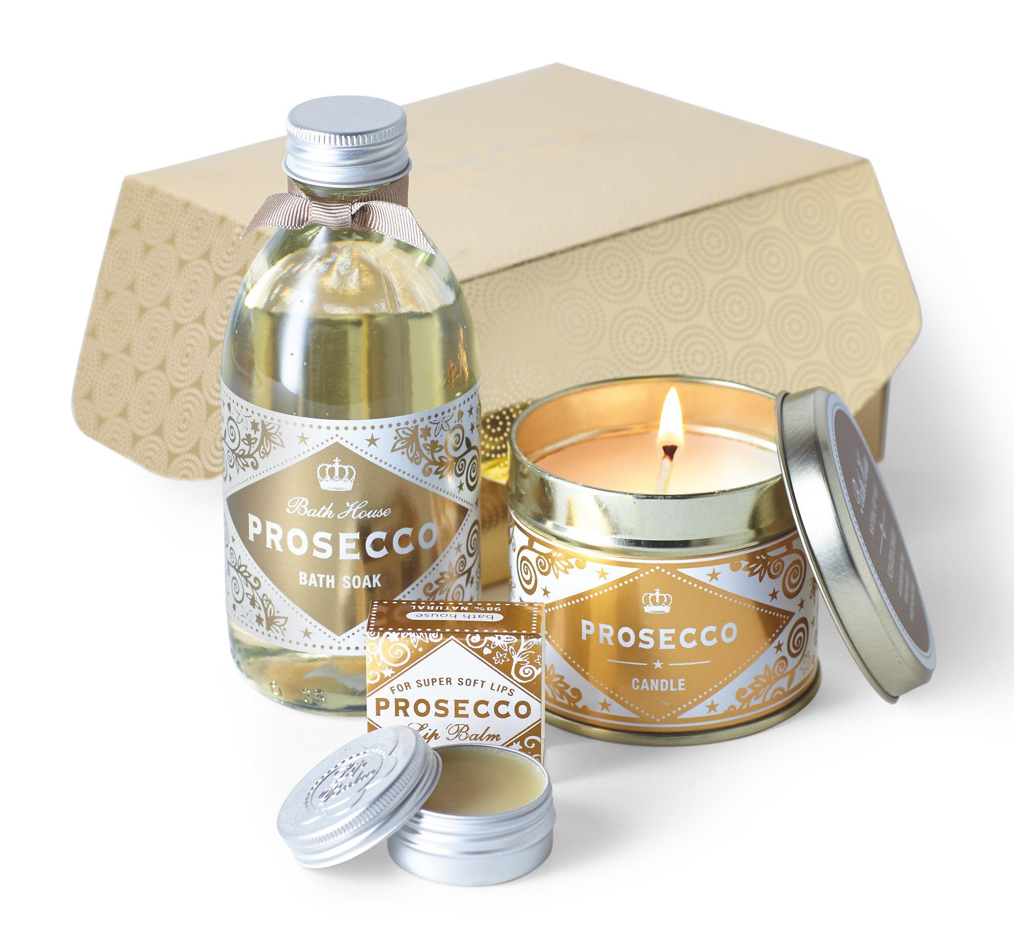 Image of Bath House Prosecco Indulgence Gift Box