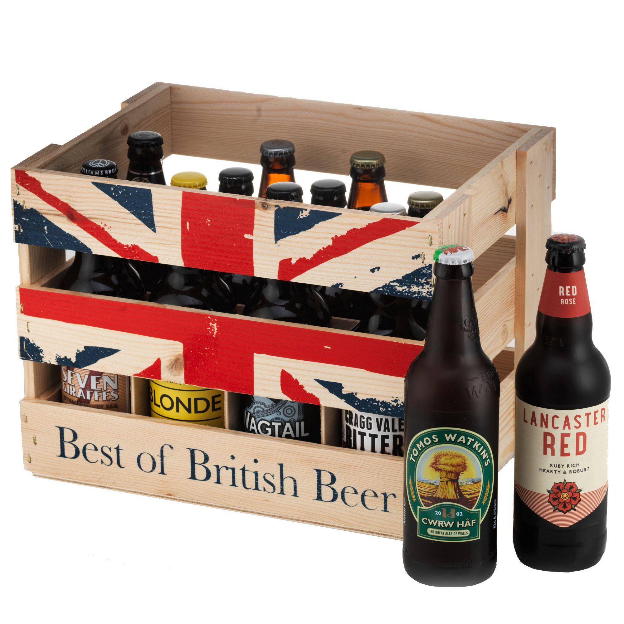 Image of Best of British Beer Crate x12