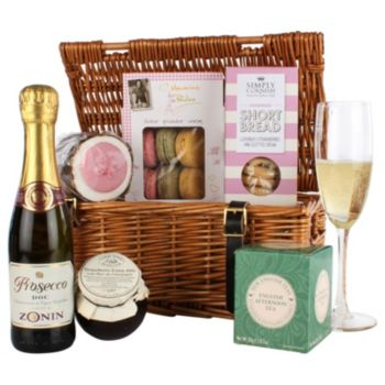 Gift hampers for all occasions waitrose gifts john lewis afternoon tea treats hamper solutioingenieria Image collections