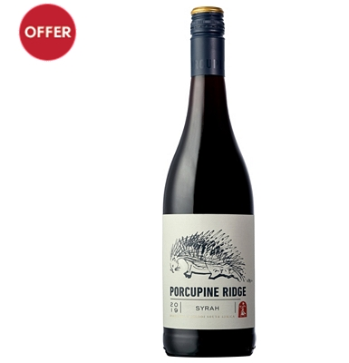 2014 Porcupine Ridge Syrah, South Africa