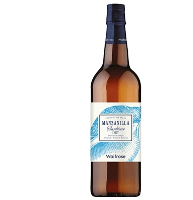 Waitrose Light Dry Manzanilla