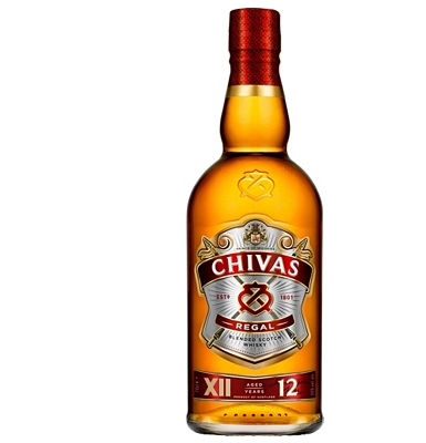 Chivas Regal  12-Year-Old Scotch Whisky
