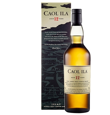 Caol Ila 12-Year-Old Islay Single Malt Whisky
