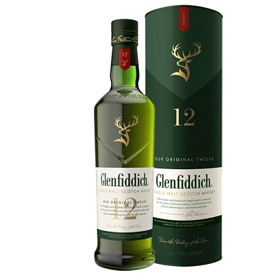 Glenfiddich 12-Year-Old Speyside Single Malt Whisky