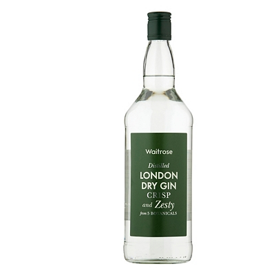 Waitrose London Dry Gin 1 Litre