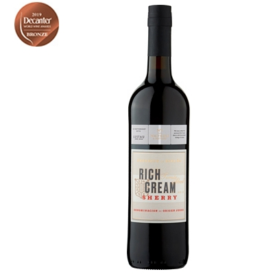 Waitrose Solera Jerezana Rich Cream Lustau Sherry