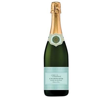 Waitrose Champagne Blanc de Blancs Brut NV,France
