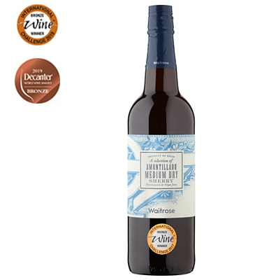 Waitrose Amontillado Sherry