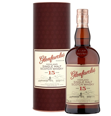 Glenfarclas 15-Year-Old Speyside Single Malt Whisky