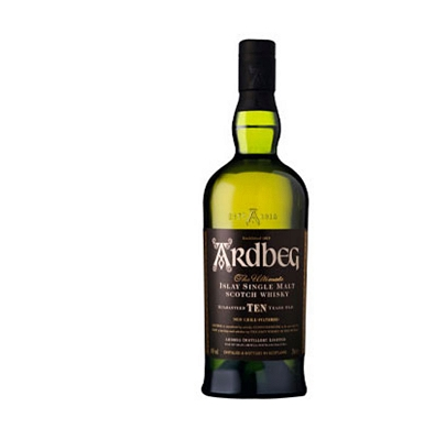 Ardbeg 10-Year-Old Islay Single Malt Whisky