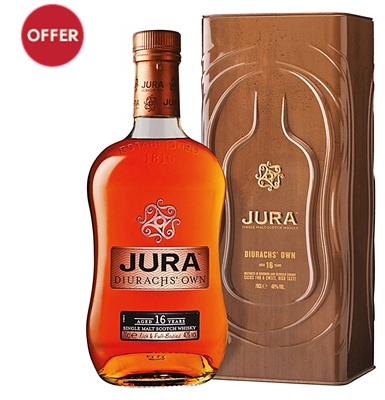 Isle of Jura 16-Year-Old Islands Single Malt Whisky