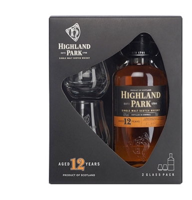 Highland Park 12-Year-Old Gift Pack