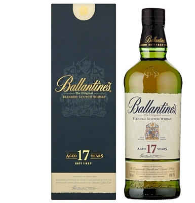 Ballantines 17yearold Blended Scotch Whisky