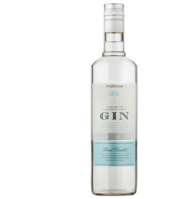 Waitrose Premium London Dry Gin