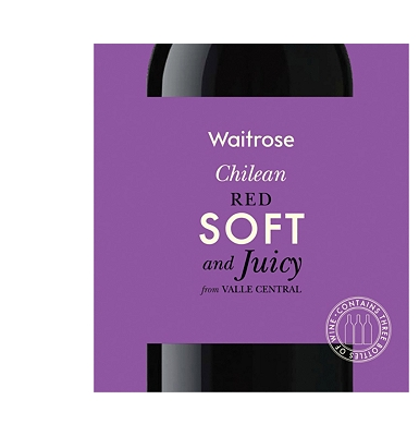 Waitrose Soft & Juicy Chilean Red