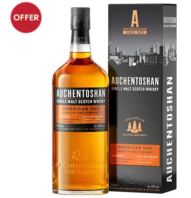 Auchentoshan American Oak Lowlands Single Malt Whisky