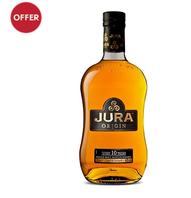 Isle of Jura Origin 10-Year-Old Islands Single Malt Whisky