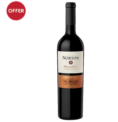 Norton Winemakers Reserve Malbec 2012 Argentina
