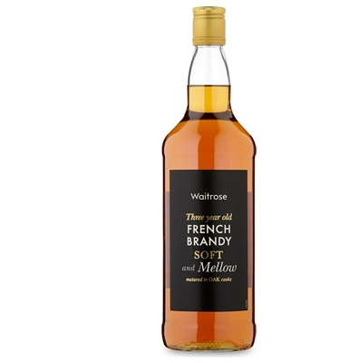 Waitrose 3-Year-Old French Brandy 1 Litre