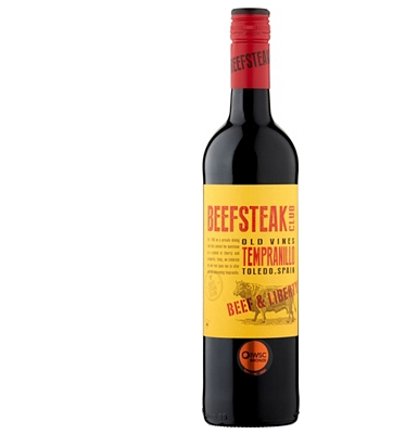 Beefsteak Club Old Vines Tempranillo 2015