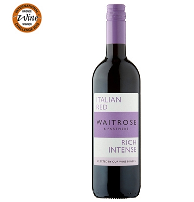 Waitrose Rich and Intense Italian Red