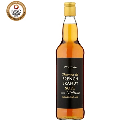 Waitrose 3-Year-Old French Brandy