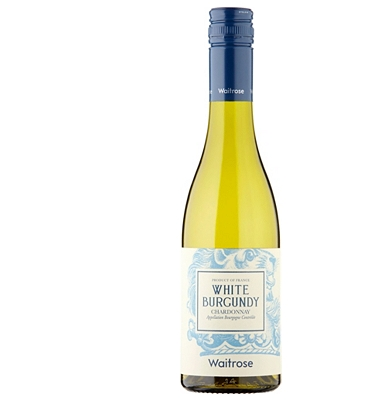 Waitrose White Burgundy 2016 France - Half Bottle