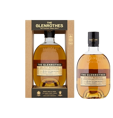 Glenrothes Select Reserve Malt Speyside Single Malt Whisky