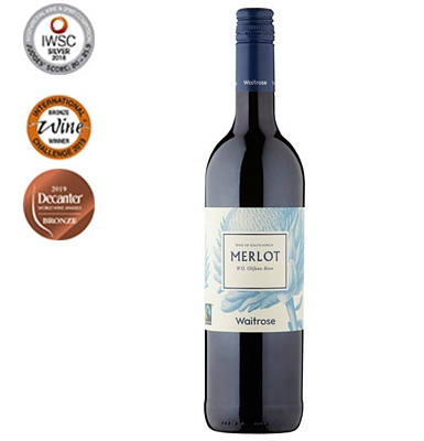 Waitrose Fairtrade Merlot