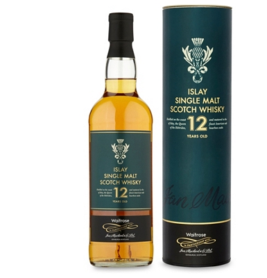 Waitrose 12-Year-Old Islay Single Malt Whisky