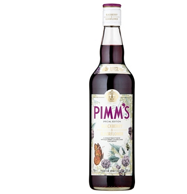 Pimm's Elderflower & Blackberry