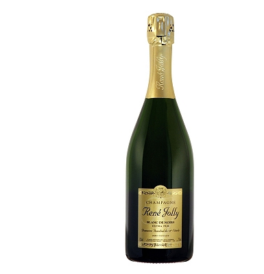Champagne Rene Jolly Blanc de Noirs Extra-Pur NV