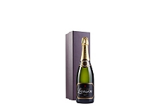 Lanson Black Label Brut NV Single Bottle Gift