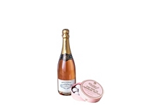 Pink Champagne & Truffles Gift.