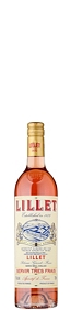 Lillet French aperitif wine rose