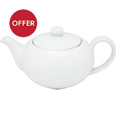 Waitrose Chef's White teapot