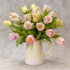 Mother's Day British Tulips Jug