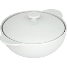 Waitrose Chef's White large casserole dsh