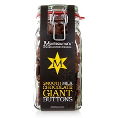 Montezuma's Organic Milk Chocolate Buttons 900g