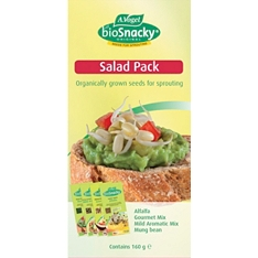 Biosnacky salad seeds, pack of 4