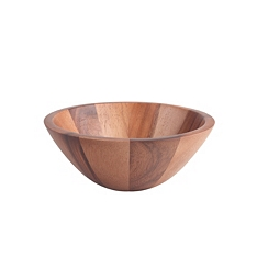 Tuscany aciacia large wide rimmed bowl