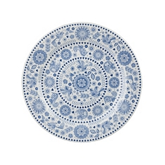 Churchill China Penzance circles salad plate
