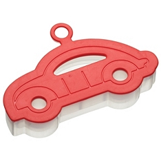 Let's Make soft touch car cookie cutter