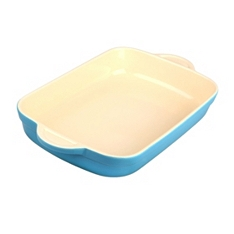 Denby azure large oblong baking dish