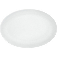 Waitrose Chef's White oval plate