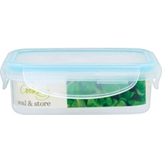 Waitrose seal & store 0.24L rectangle container